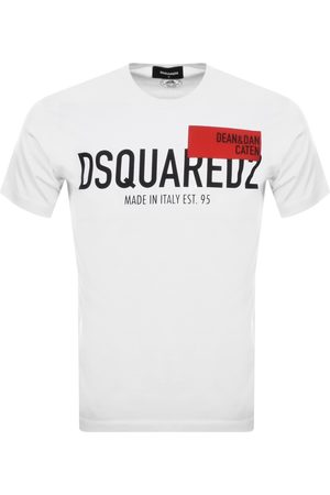 Dsquared2 Red Tag Logo T Shirt