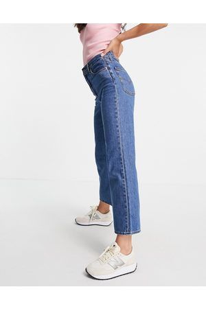Levi's Math club flared jeans in mid wash-Blues