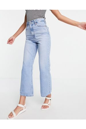 Levi's Math Club flared jeans in light wash-Blues