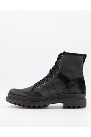 AllSaints All Saints traction lace up ankle boots in suede