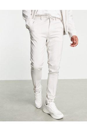 ASOS Skinny smart pants in ice - part of a set-Grey