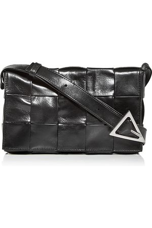 Bottega Veneta Intreccio Leather Crossbody