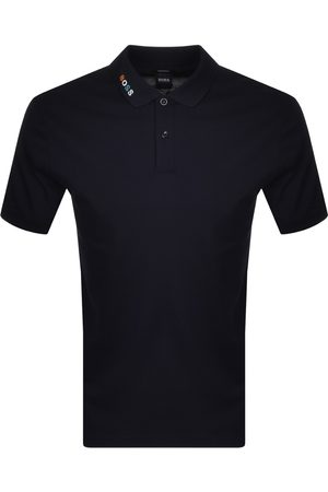HUGO BOSS BOSS Parlay 125 Short Sleeve Polo T Shirt Navy
