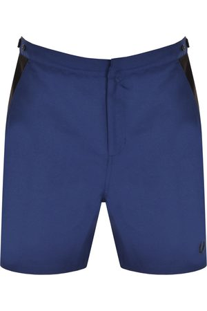 Fred Perry Contrast Panel Swim Shorts Navy