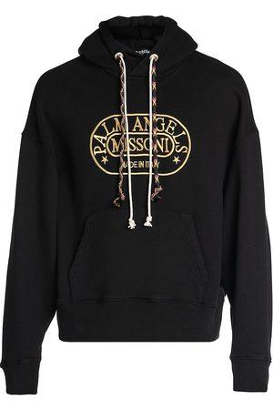 Palm Angels X Missoni Men's Heritage Drawstring Hoodie Sweatshirt - - Size Small