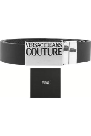 VERSACE Couture PU Leather Logo Belt