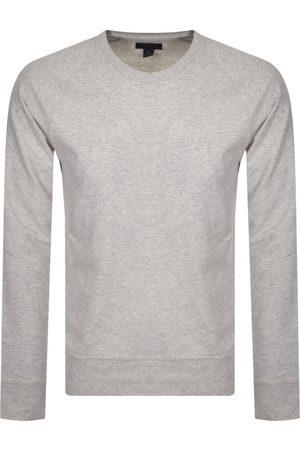 Ralph Lauren Loungewear Long Sleeved T Shirt Grey
