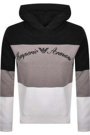 Armani Emporio Pullover Knit Hoodie