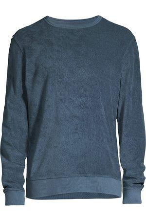 Orlebar Brown Men's Pierce Terry Cloth Sweatshirt - Navy - Size XXL
