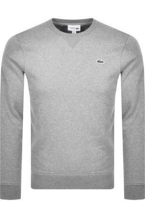 Lacoste Sport Crew Neck Sweatshirt Grey