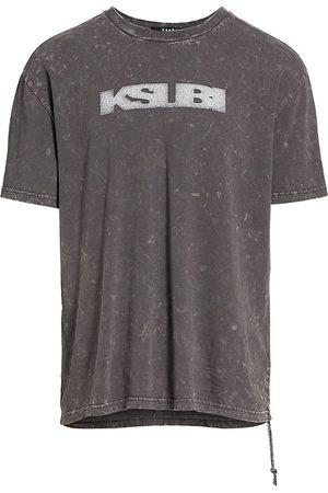 KSUBI Men's Dr3amstate Sign Of The Times T-Shirt - Grey - Size XXL