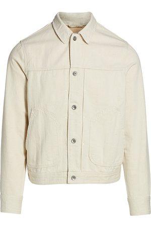 RAG&BONE Men's Twill Shop Jacket - Natural - Size Small