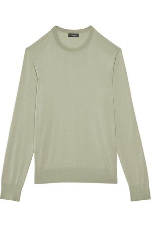 THEORY Men's Wool Pullover - Endive - Size XXL