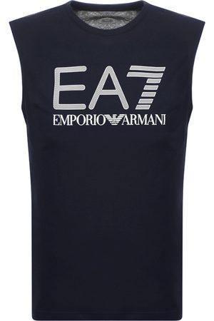 EA7 Emporio Armani Logo Vest Navy