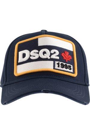 Dsquared2 Logo Patch Baseball Cap Navy