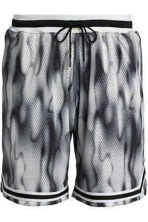 JOHN ELLIOTT Men's Smokescreen Game Shorts - Smoke Screen - Size Large