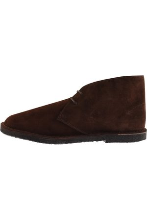 Pretty Green Men Lace-up Boots - Suede Desert Boot