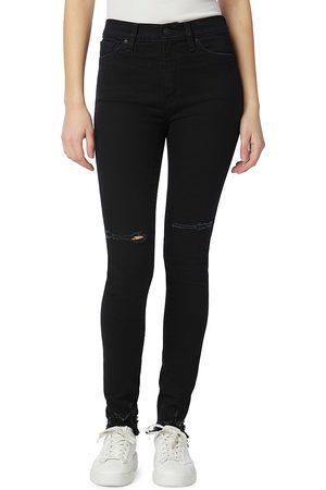 Hudson Women's Barbara Super Skinny Jeans - Evening Shadow - Size 24