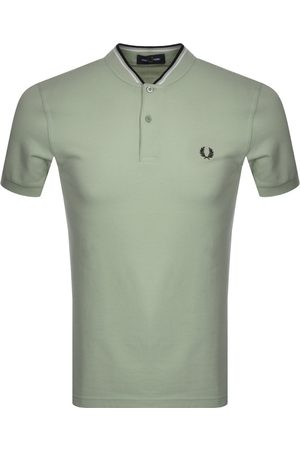 Fred Perry Bomber Collar Polo T Shirt