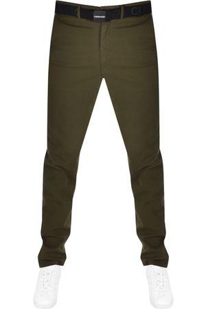 Calvin Klein Men Chinos - Slim Fit Chino Trousers
