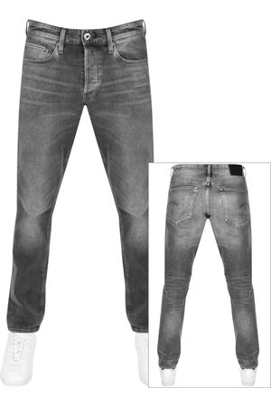 G-Star Raw 3301 Straight Tapered Jeans Grey