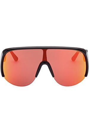 Moncler Men's Injected 140MM Shield Sunglasses - Shiny