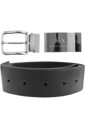 Armani Reversible Belt Gift Set