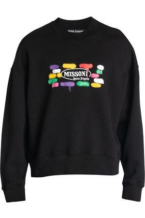 Palm Angels X Missoni Men's Sport Crewneck Sweatshirt - - Size XS