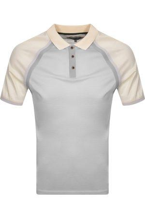 Ted Baker Men Polo Shirts - Volume Polo T Shirt Grey