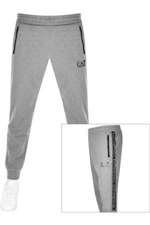 EA7 Emporio Armani Logo Jogging Bottoms Grey