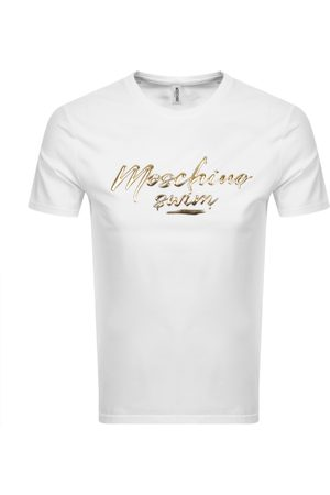 Moschino Logo Short Sleeved T Shirt