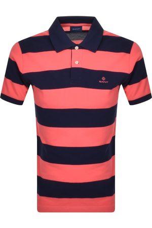 GANT Barstripe Rugger Polo T Shirt