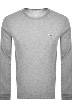 Lacoste Men Long Sleeve - Sport Long Sleeved T Shirt Grey