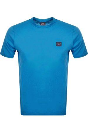 Paul & Shark Men Short Sleeve - Paul And Shark Short Sleeved Logo T Shirt
