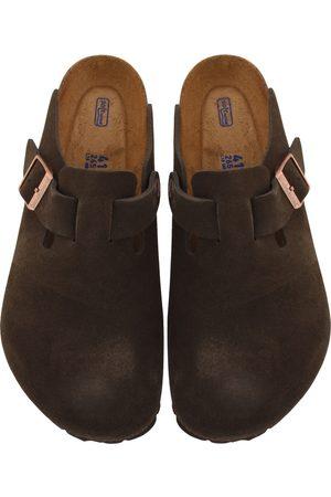 Birkenstock Boston BS Suede Sandals