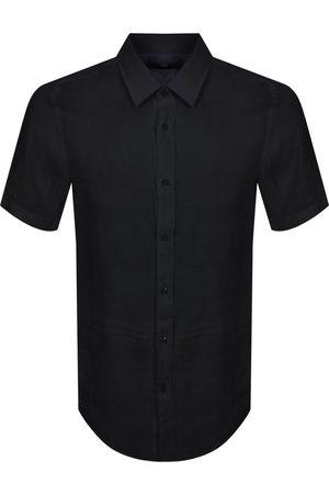 HUGO BOSS BOSS Luka Slim Fit Short Sleeve Shirt Navy