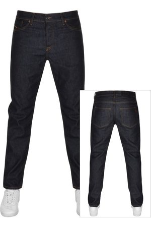 Diesel Men Tapered - D Fining Tapered Fit Jeans Navy