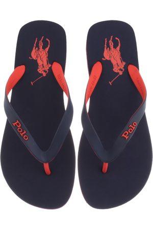 Ralph Lauren Bolt Flip Flops Navy