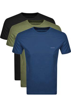 Diesel Men T-shirts - UMTEE Jake 3 Pack T Shirts Navy