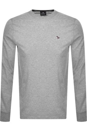 Paul Smith PS By Long Sleeved T Shirt Grey