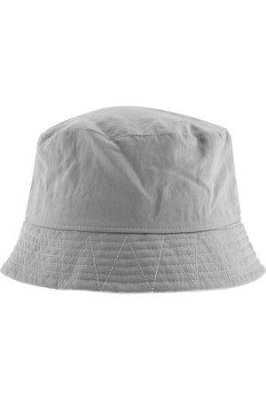 Pretty Green Crinkle Nylon Bucket Hat Grey