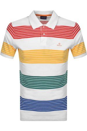 GANT Multistripe Rugger Polo T Shirt