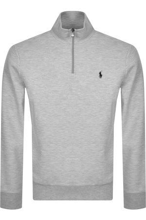 Ralph Lauren Long Sleeve Half Zip Sweatshirt Grey