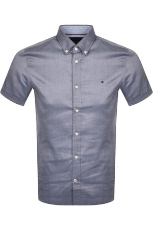 Tommy Hilfiger Slim Fit Short Sleeve Shirt Navy