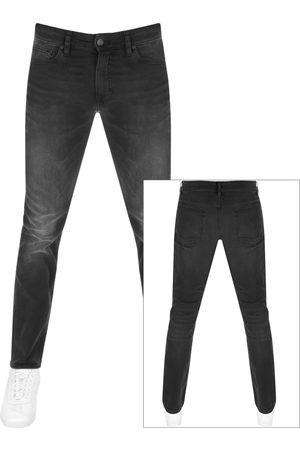 HUGO BOSS BOSS Delaware Slim Fit Jeans Grey