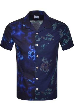 Paul Smith PS By Casual Short Sleeved Shirt Navy