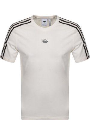 adidas Men T-shirts - Sport 3 Stripe T Shirt