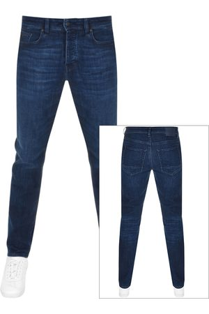 HUGO BOSS BOSS Taber Tapered Fit Jeans Navy