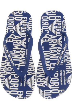 Armani Men Flip Flops - Emporio Logo Flip Flops