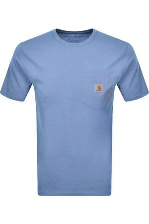 Carhartt Men Short Sleeve - Pocket Short Sleeved T Shirt